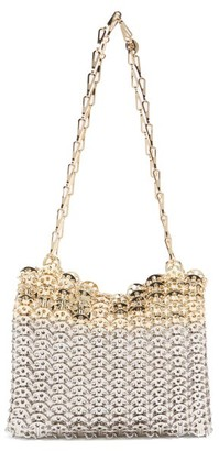 Paco Rabanne Iconic 1969 Bi-colour Chainmail Bag - Silver Multi