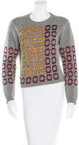 Pringle Wool Beaded Sweater