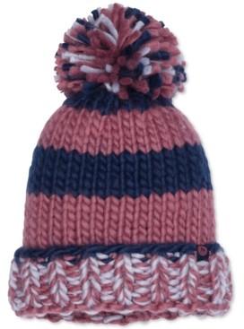 Marmot Women's Cc Girl Chunky-Knit Pom Pom Hat