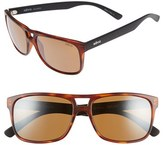 Revo Men's 'Holsby' 58Mm Polarized Sunglasses - Matte Dark Tortoise/ Terra