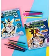 Art 101 Pukka Fun 4D Interactive Coloring Book - Fantasy/Race Day