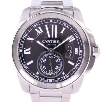 Cartier Calibre Silver Steel Watches