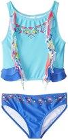 Limeapple UPF 50+ Cali Two Piece Bikini Set (6mos4T) - 8152785