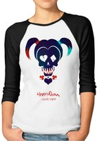 Jersey Baseball Female Cute Tshirts With Suicide Squad Harley Quinn