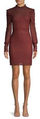 Bailey 44 Ruffle-Trimmed Sheath Dress