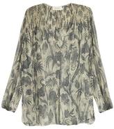Zimmermann Adorn Bird Chintz-print silk-chiffon blouse