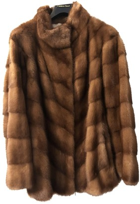 Giuliana Teso Brown Mink Coat for Women