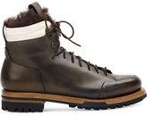 Silvano Sassetti faux fur lined boots - men - Calf Leather/rubber - 6