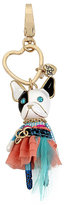 Betsey Johnson Holiday Giving Doggie Keychain