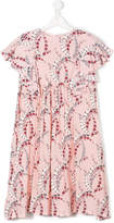 Fendi floral babydoll dress