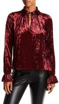 Romeo & Juliet Couture Crushed Velvet Blouse