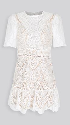 Saylor Darian Lace Mini Dress