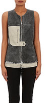 3.1 Phillip Lim WOMEN'S CANVAS & FELT VEST