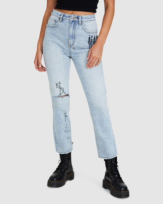 Ksubi Chlo Wasted Jeans X Pression
