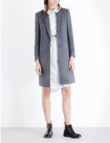 Joseph Single-breasted wool and cashmere-blend coat