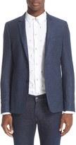 Paul Smith Men's Wool & Silk Knit Blazer