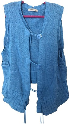 See by Chloe Blue Linen Jackets