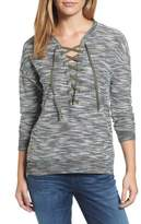 KUT from the Kloth Women's Everly Lace-Up Sweater