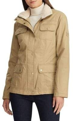 Lauren Ralph Lauren Military Cotton Jacket