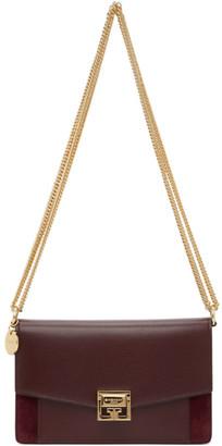 Givenchy Burgundy Mini GV3 Bag