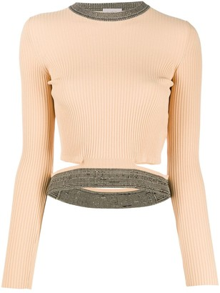 Mrz Cropped Ribbed Top