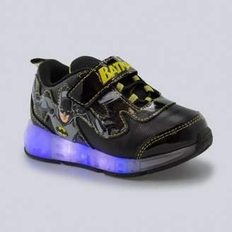 DC Comics Toddler Boys' Batman Lighted-Up Sneakers - Black