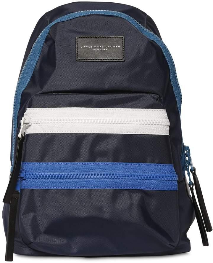 Little Marc Jacobs Nylon Backpack