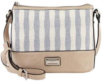 Cellini CSR036 Peggy Zip Top Crossbody Bag