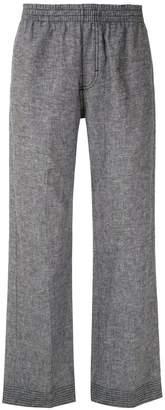 À La Garçonne Elasticated Waist Straight Trousers