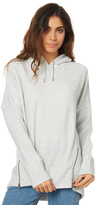 Swell Mimi Fleece Longline Hood Grey