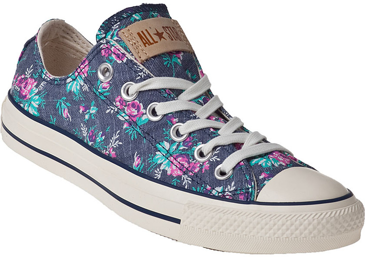 Converse Chuck Taylor All Star Sneakers Floral Denim