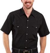 JCPenney Ely Cattleman Mens Snap Shirt