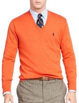 Polo Ralph Lauren Pima Cotton V-Neck Sweater