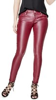 GUESS Factory Lanori Coated Skinny Jeans