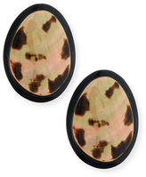 Viktoria Hayman Freeform Statement Earrings, Clip-On