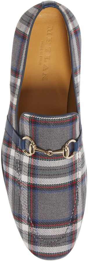 Thumbnail for your product : Mezlan Knighton Plaid Bit Loafer