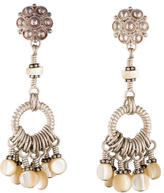 Stephen Dweck Mother of Pearl Tassel Earrings