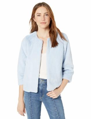 Kensie Women's Luxe Faux Fur Jacket