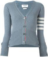 Thom Browne contrast stripe cardigan