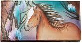Anuschka Checkbook Cover 1056 (Free Spirit) Clutch Handbags