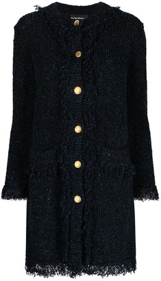 Boutique Moschino Boucle-Knit Cardigan