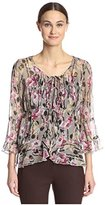 Anna Sui Women's Rosy Chain Top