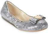 Cole Haan Tali Snake Embossed Ballet Flats