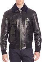 Ovadia & Sons Karakul & Leather Pilot Jacket