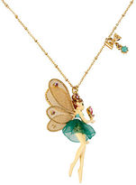 Betsey Johnson Fairy Pendant Necklace