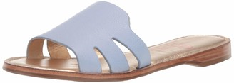 Marc Joseph New York Women's Leather Made in Brazil Slide Sandal