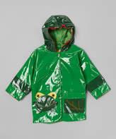 Kidorable Green Frog Raincoat - Infant, Toddler & Kids