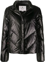 Woolrich quilted fitted jacket
