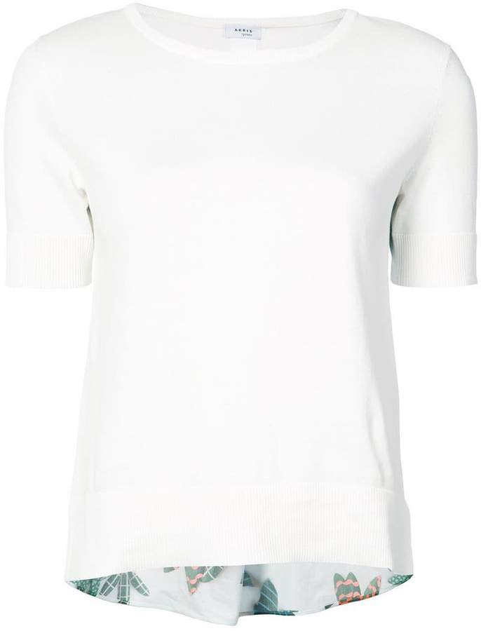 Akris Punto short-sleeve fitted top