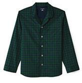 Classic Men's Fit Broadcloth Pajama Shirt-Blackwatch Tartan